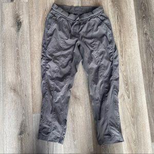 Lululemon gray dance pants crop